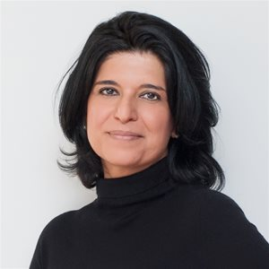 head shot of Shabnam Rezaei