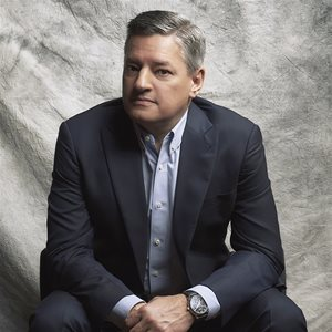head shot of Ted Sarandos