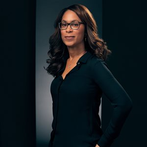 head shot of Channing Dungey