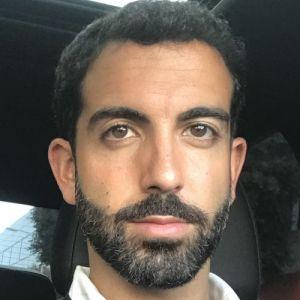 head shot of Arvand Khosravi