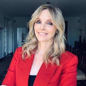 head shot of Kirstine  Stewart