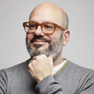 head shot of David Cross