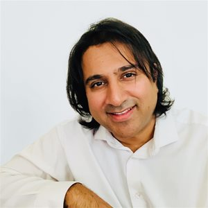 head shot of Harjeet Bajaj