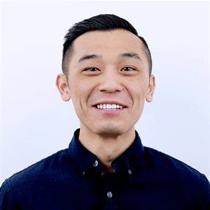 head shot of Daniel Ku