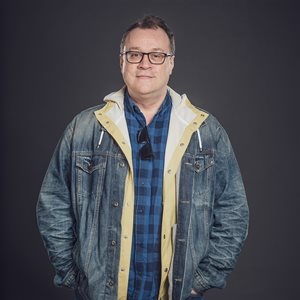 head shot of Russell T Davies