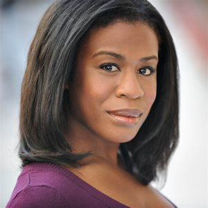 head shot of Uzo Aduba