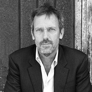 head shot of Hugh Laurie