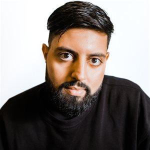 head shot of Rishi Rajani