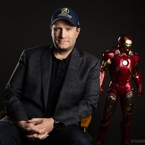 head shot of Kevin Feige
